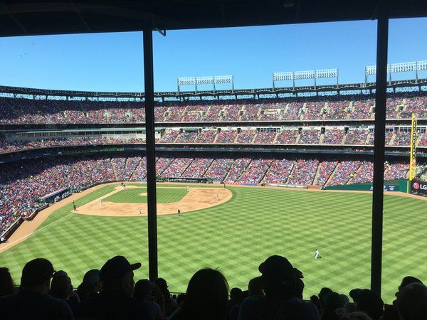 April 4, 2016 - Opening Day at Globe Life Park at Arlington, the home of the Texas Rangers.