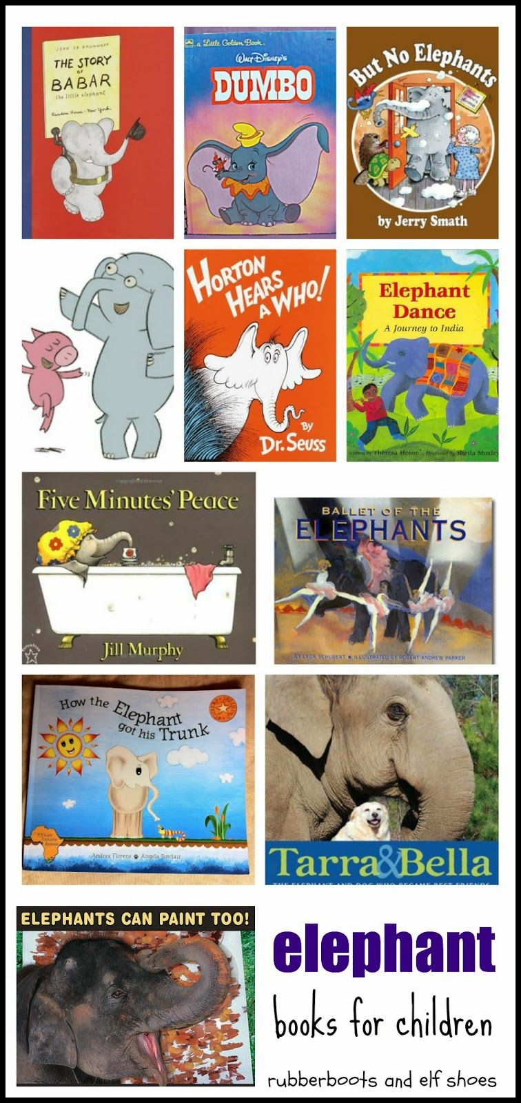 elephant books to enjoy from rubber boots and elf shoes | rubberboots and elf shoes posts
