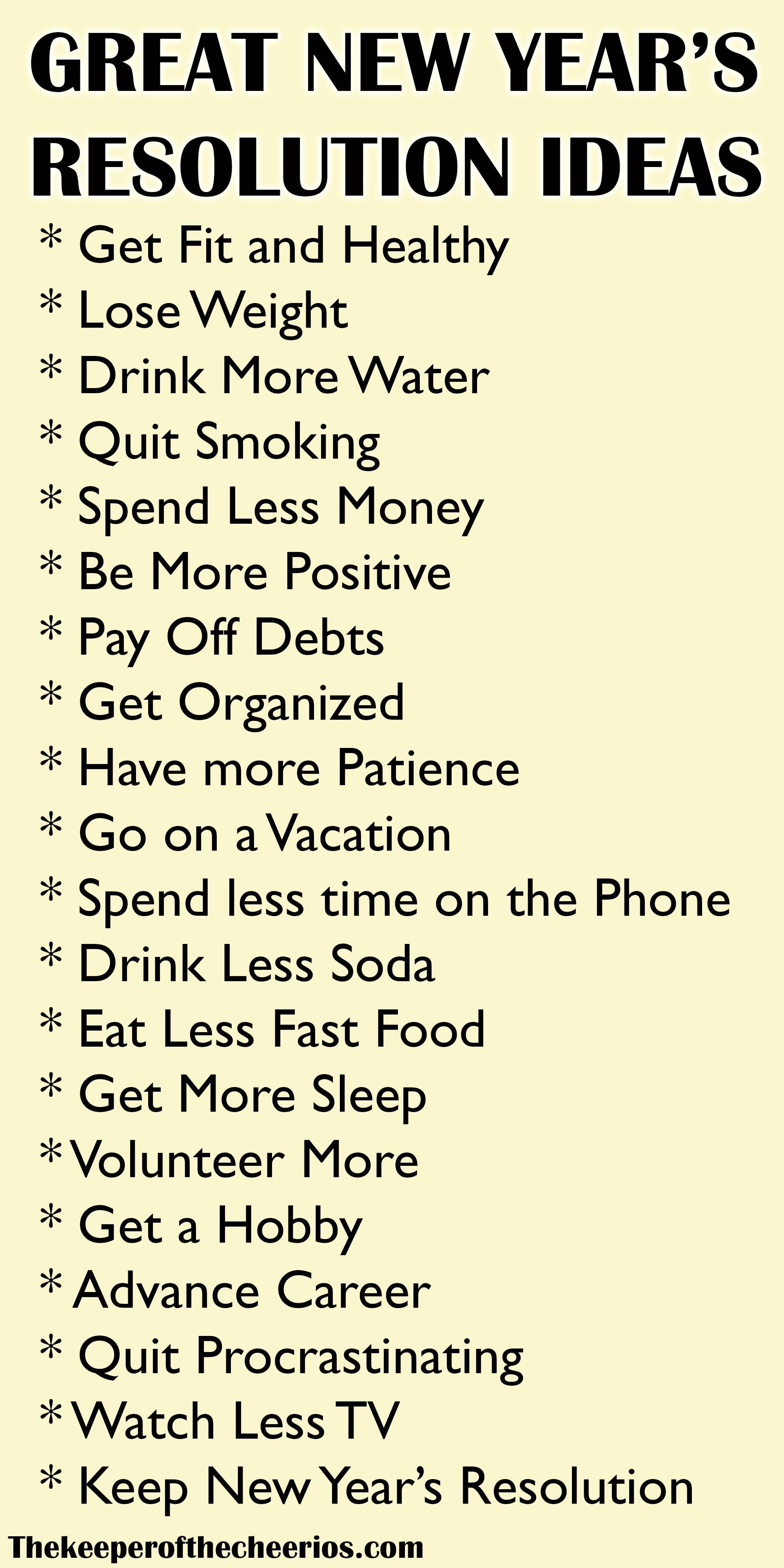 Newyearsresolutionideaslist Resolution Years Ideas Newnew Years Resolution Ideas 2017 New Yea Quotes About New Year New Years Resolution Resolution Quotes