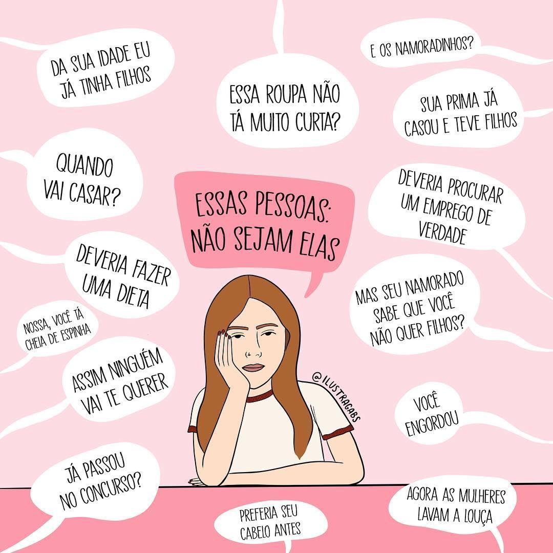 Essas Pessoas Não Sejam Elas Frases Fodas Girl Power Cover