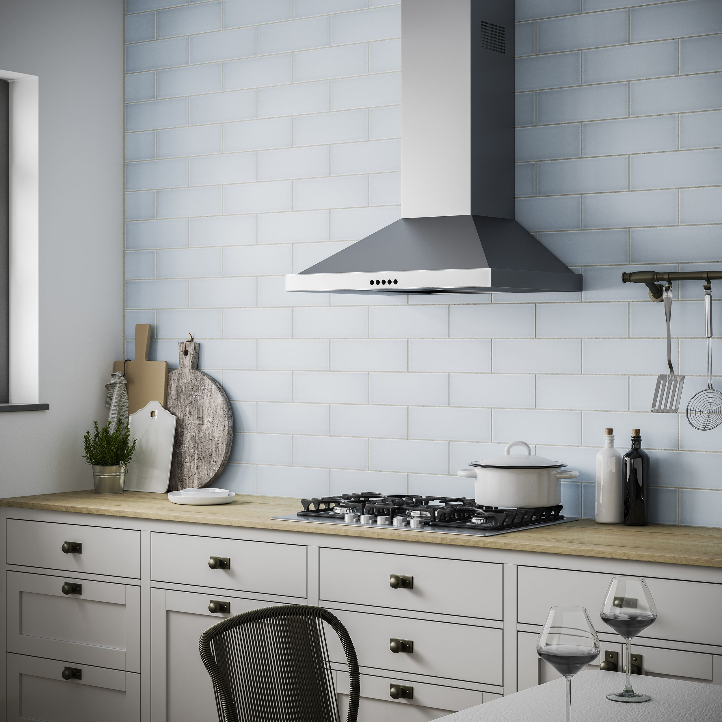Chalkwell Duck Egg Blue 100x300 In 2020 Wall Tiles Duck Egg Blue Ceramic Wall Tiles