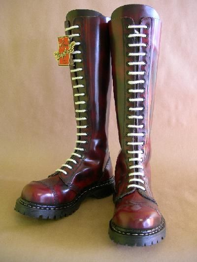 Grinders 20 eye steel toe boots made in the UK! My next ...