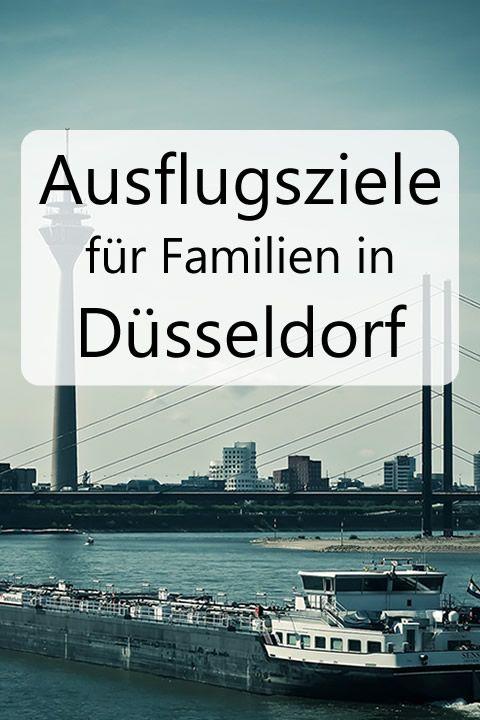 Ausflugsziele für Familien in Düsseldorf und Umgebung