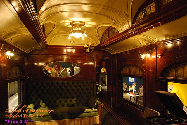 Inside Rail Car Ringling Mansion Sarasota Florida