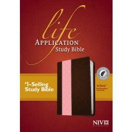 Bibles At Cost Life Application Study Bible NIV, TuTone