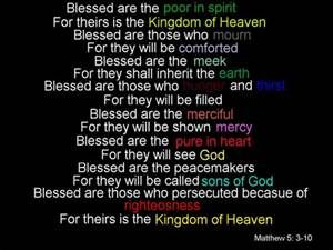 Matthew 5: 3-10 by Banshee-Scream on DeviantArt