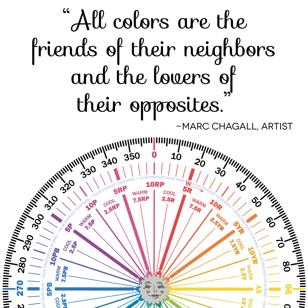 All Colors Are The Friends Of Their Neighbors And The Lovers Of