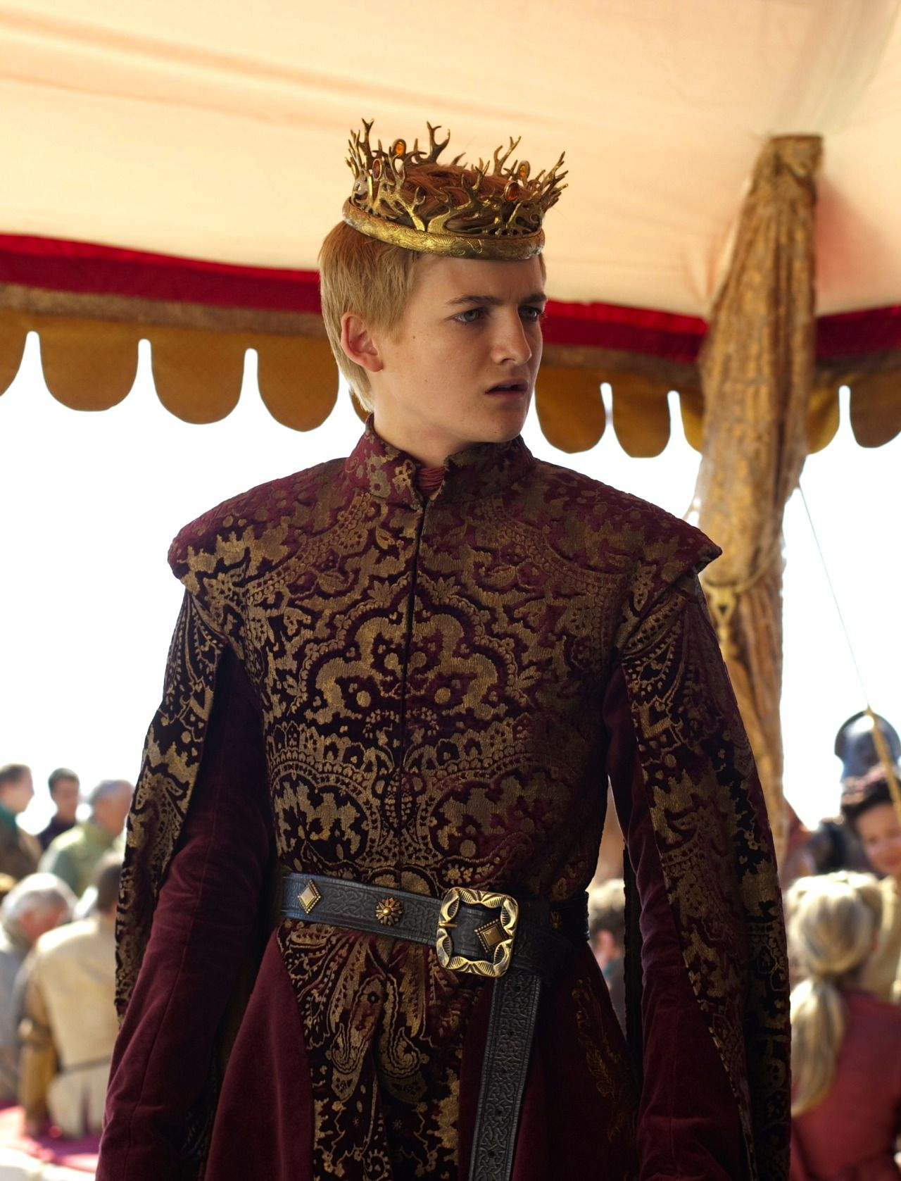 "2012 — Jack Gleeson as 'Joffrey Baratheon' in ""Game of ..."