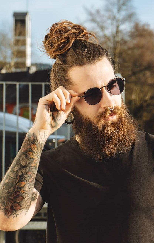 49+ Man bun hairstyle images ideas