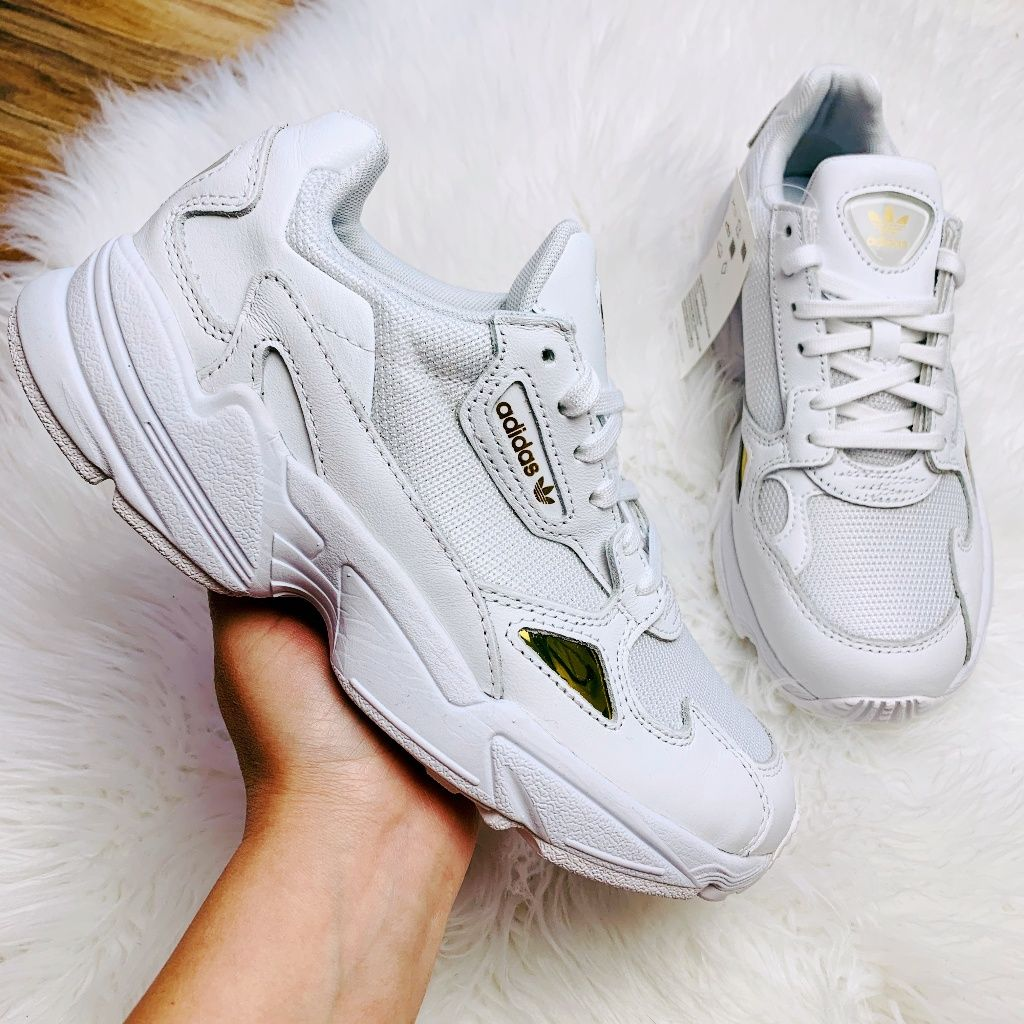 adidas falcon cloud white