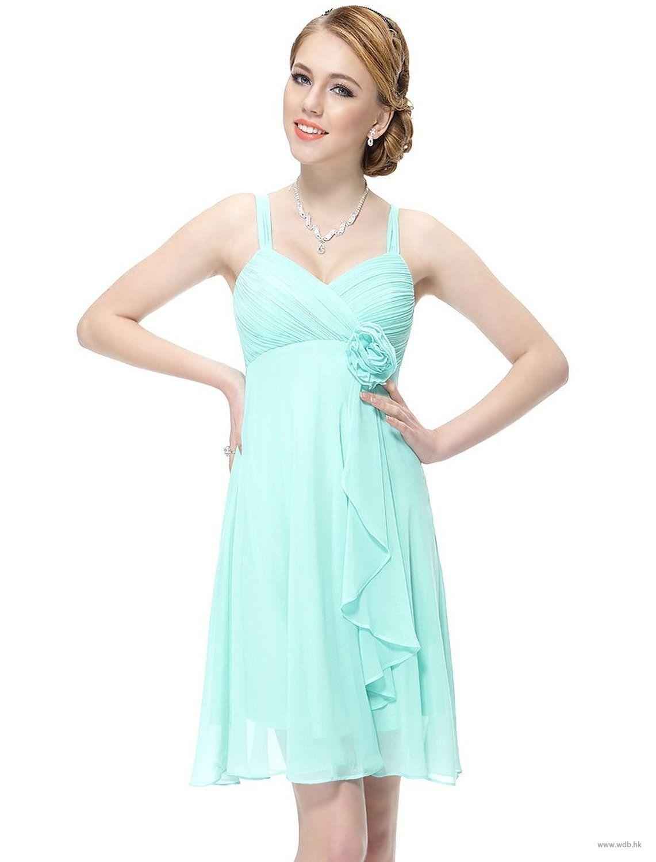 wedding gowns Straps short chiffon ruching dress $99.98 | wedding ...