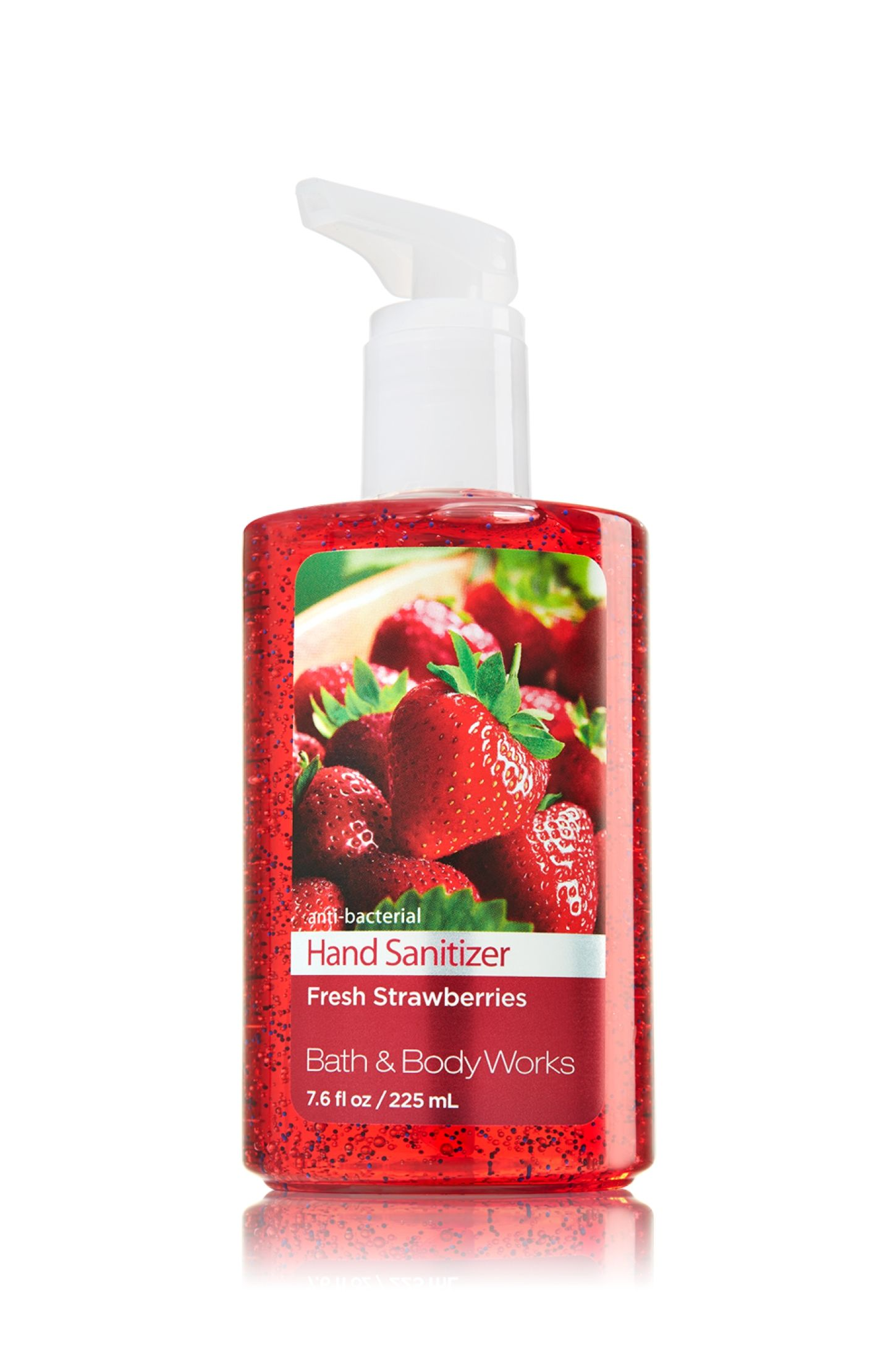 Fresh Strawberries Sanitizing Hand Gel Soap Sanitizer Bath