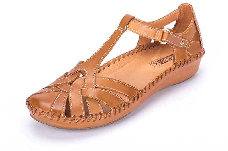 Women`s Leather Shoes P. VALLARTA 655