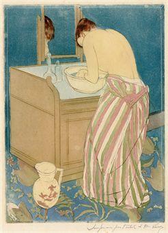 Woman Bathing (La Toilette) (B. 148; M. 10)