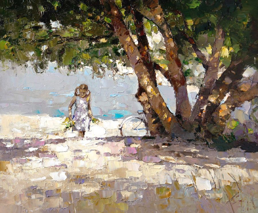 Platan at sea, Alexi Zaitsev