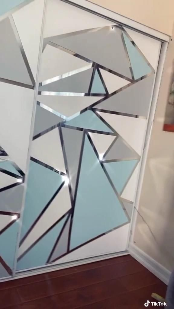 Photo of DIY painted mirror  – NOBLE DAYS