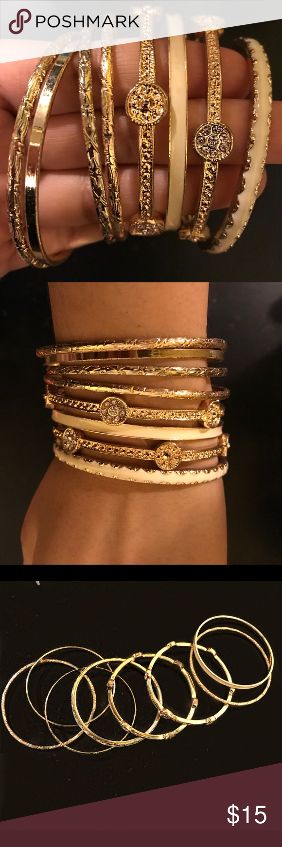 exclusive bracelet shop gold macy bracelets pave macys bangle klein s pav a braided tone bangles product fpx anne style