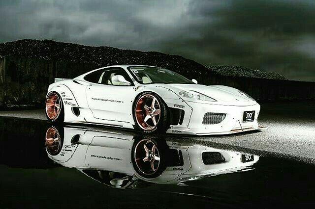 Liberty Walk, Custom Cars, Concept Cars, Ferrari 360, Super Cars, Cars  Motorcycles, Wide Body, Dream Garage, Lamborghini