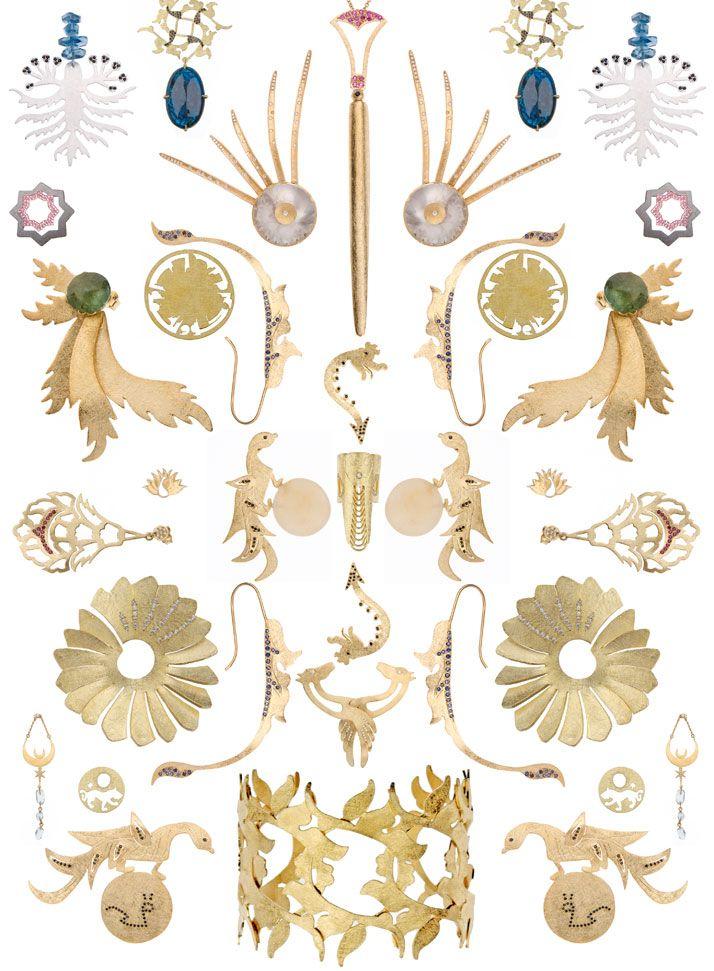 Nour by Elena Syraka | Brilliant Minds | Jewelry art, Greek