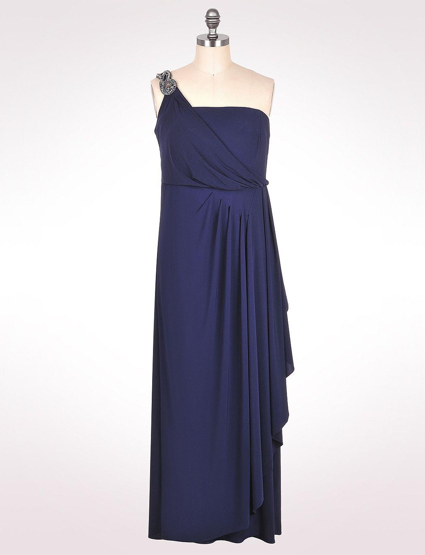 One Shoulder Strap Long Dress Wedding Guest Dresses Pinterest
