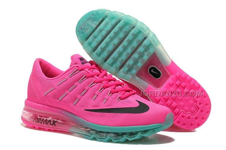 Buy Discount Nike Air Max 2016 Womens Runn Shoes Pink-black-new Jade Cheap  from Reliable Discount Nike Air Max 2016 Womens Runn Shoes Pink-black-new  Jade ...