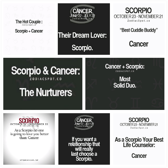 Scorpio Male And Cancer Female In Relationships