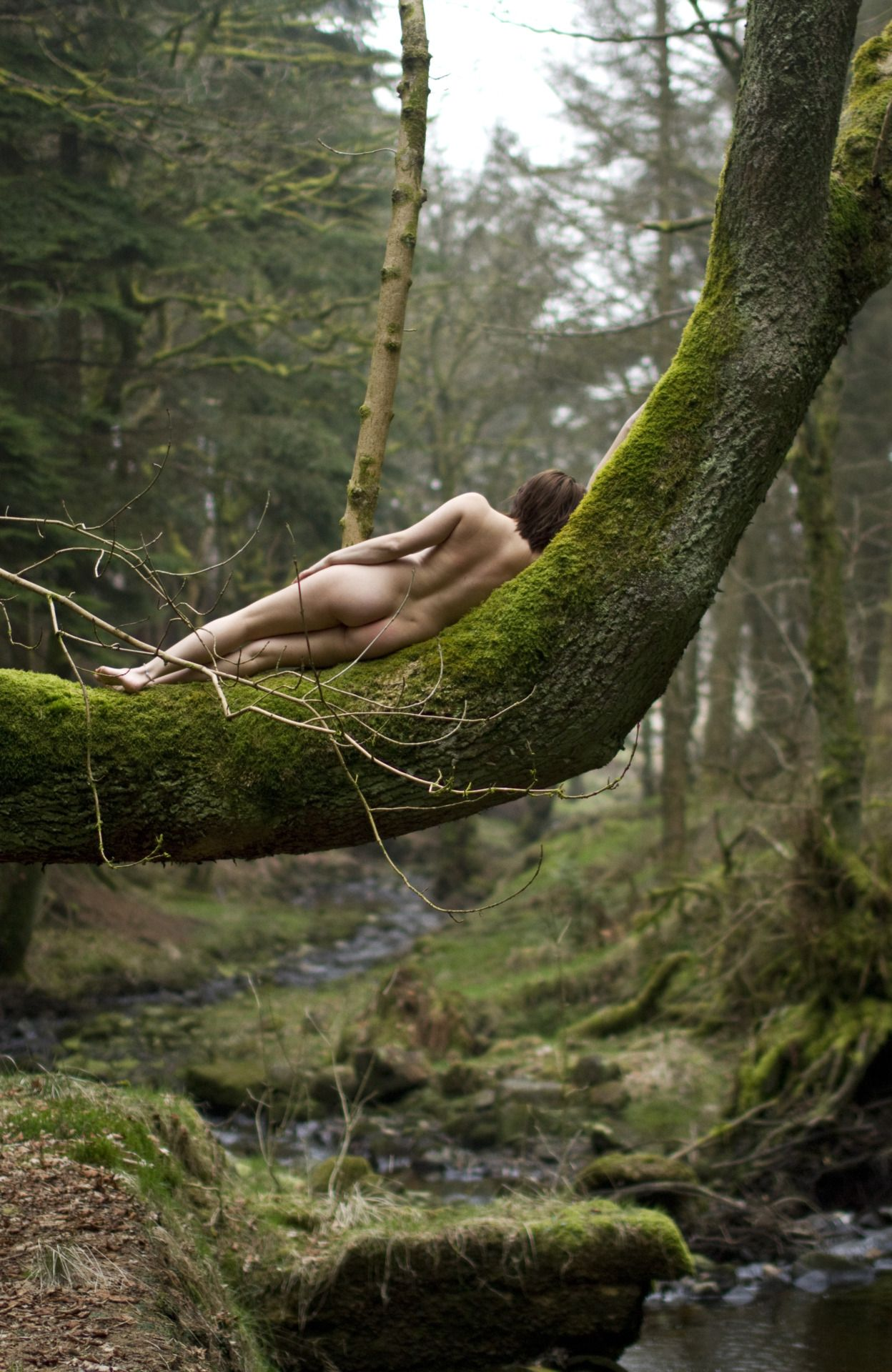 Nude photography in nature