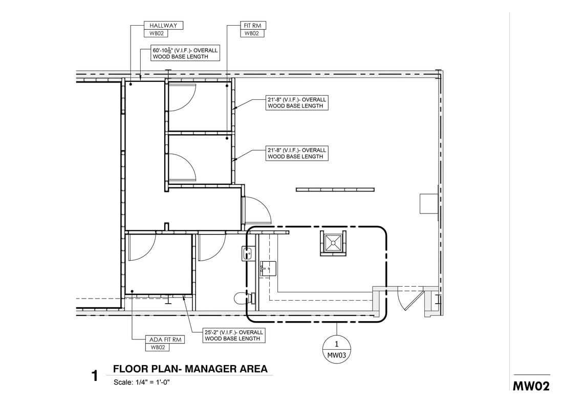Best Custom Commercial Casework Millwork Shop Drawing Service 400 x 300