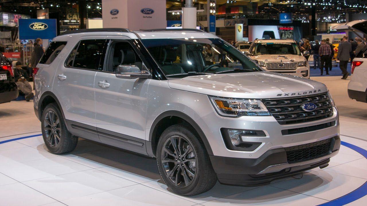 2017 Ford Explorer Ford explorer, Ford explorer xlt