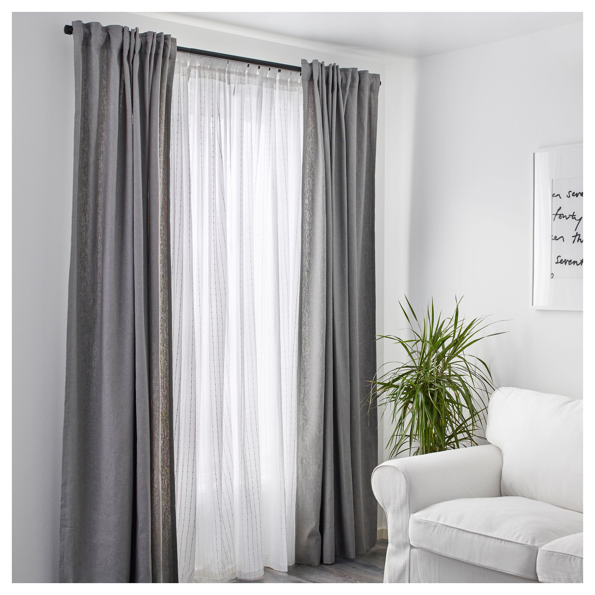 Ikea Gardinen Schlafzimmer Ikea Matilda Sheer Curtains 1 Pair White Products Pinterest