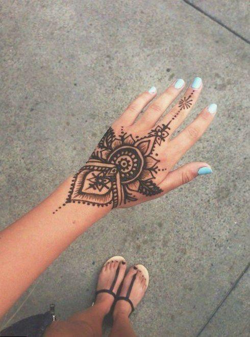 #hennatattoo #tattoo snake forearm tattoo, small tattoo in ...