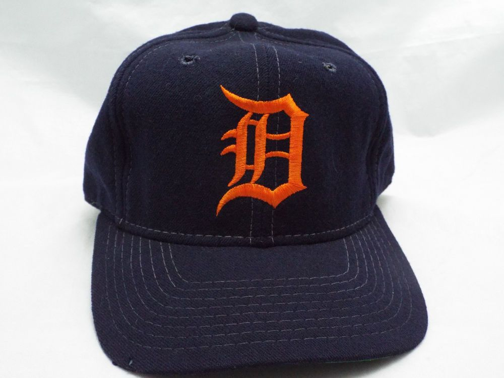 detroit tigers fitted hat size 8
