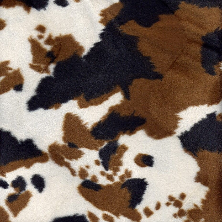 Faux Fur Animal Print Fabric By The Yard For Home