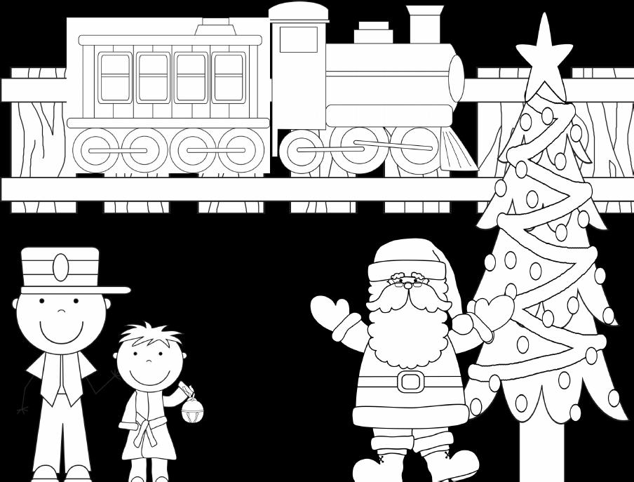 Polar Express Coloring Sheet Train Coloring Pages Polar Express Crafts Polar Express