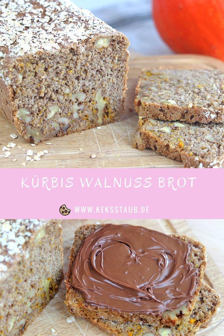 Kurbis Walnuss Brot Brot Pinterest Brot Nuss Und Backen