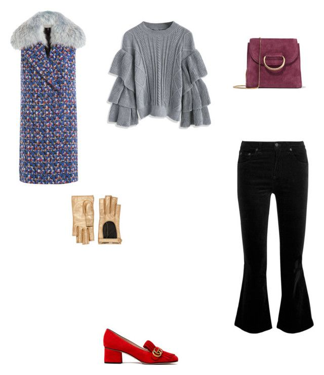 """Untitled #2662"" by anamaria-zgimbau ❤ liked on Polyvore featuring rag & bone, Emilio Pucci, Chicwish, Gucci and Little Liffner"
