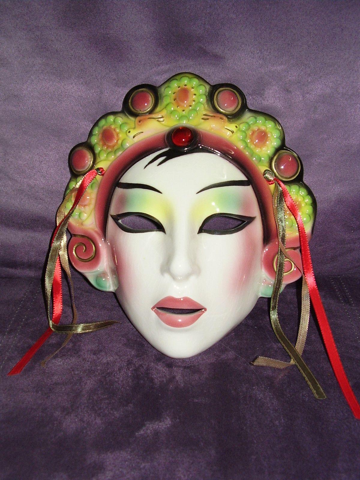 Clay art Mask San Francisco Co. Chinese Princess Masks
