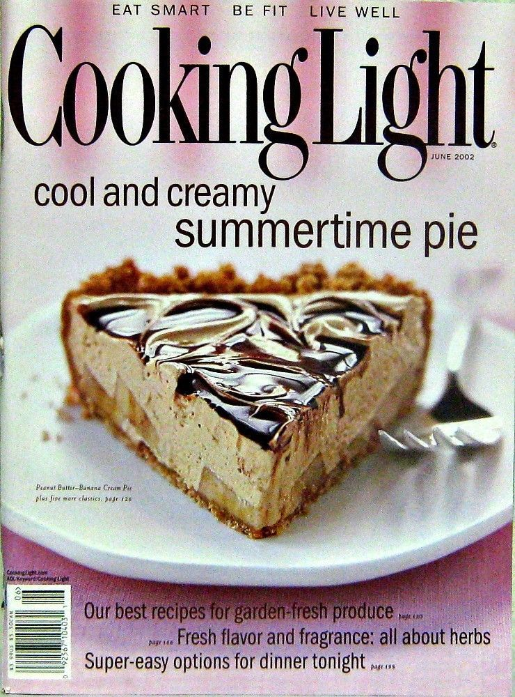 Cooking light magazine cool creamy summertime pie june 2002 food cooking light magazine cool forumfinder Images