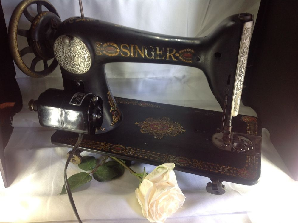 Antique Singer Sewing Machine G Series 40 Sold As Is SEWING Interesting 1910 Singer Sewing Machine Worth