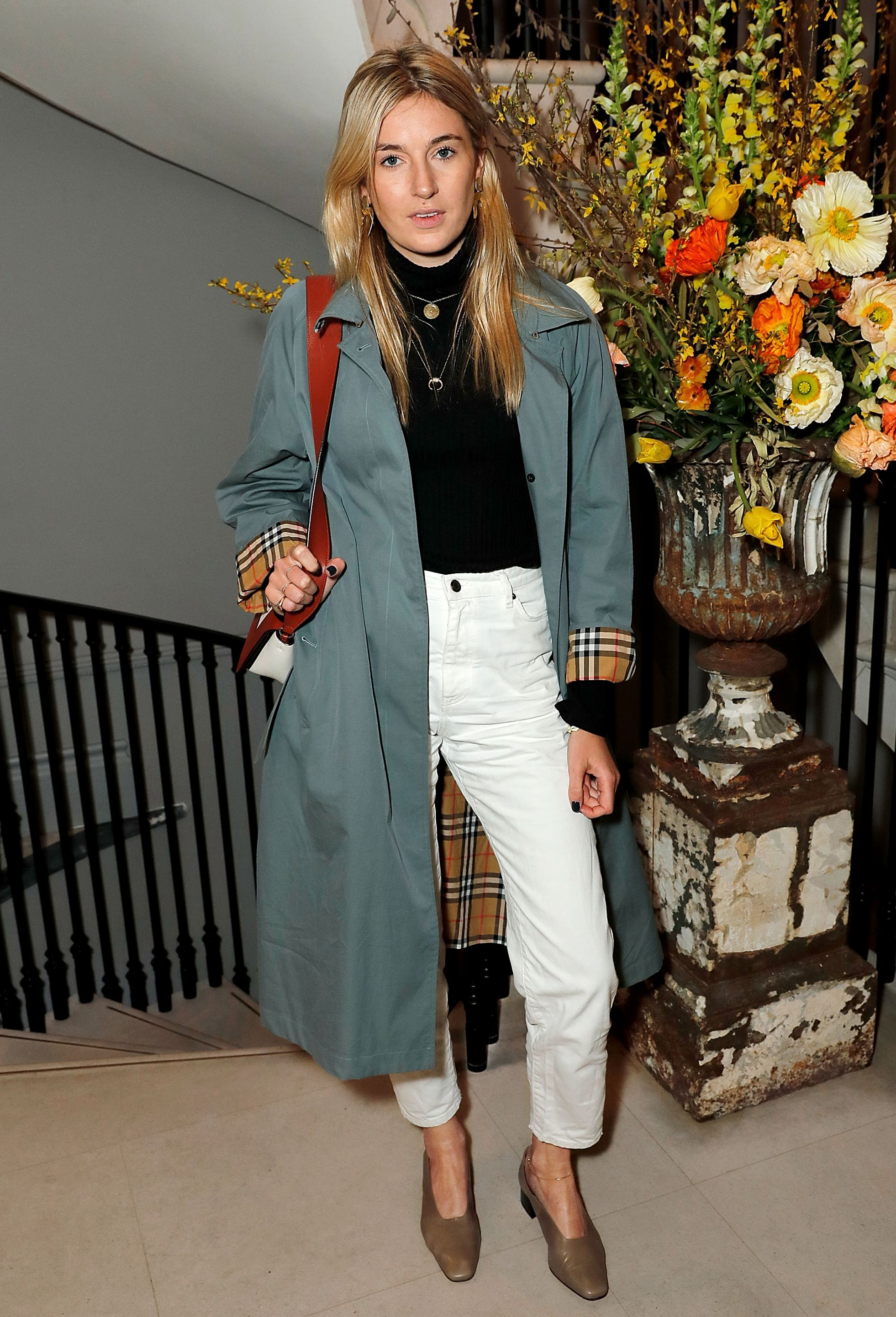 39a85f9bb6d1f Camille Charrière celebrating  BeCoolBeNice at Thomas s Cafe in Burberry  Regent Street Store