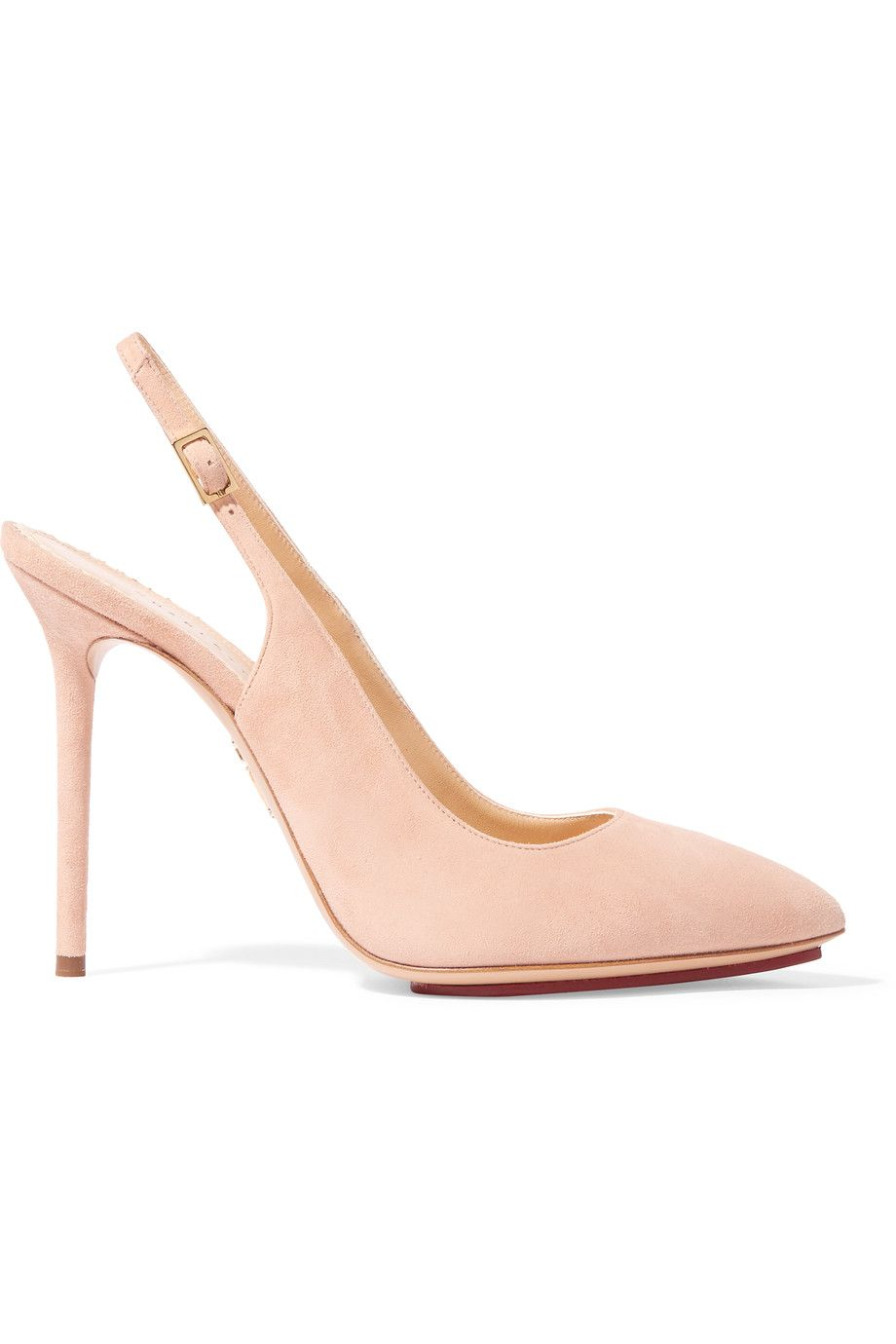 CHARLOTTE OLYMPIA Monroe Suede Slingback Pumps.  charlotteolympia  shoes   pumps a1154a328
