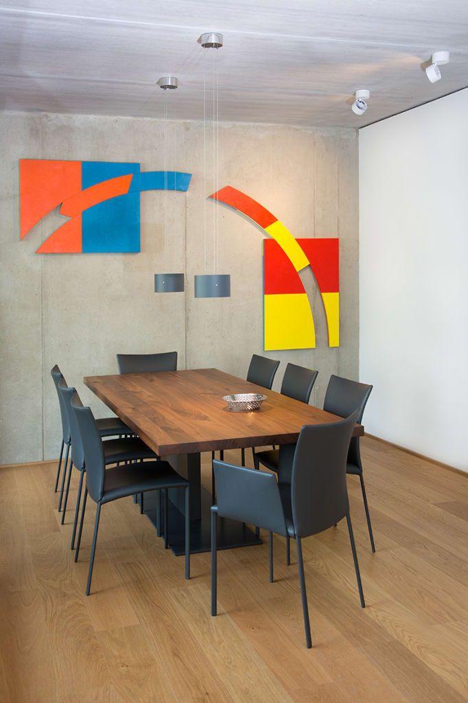 Minimalistische Esszimmer Bilder Loftwohnung Köln