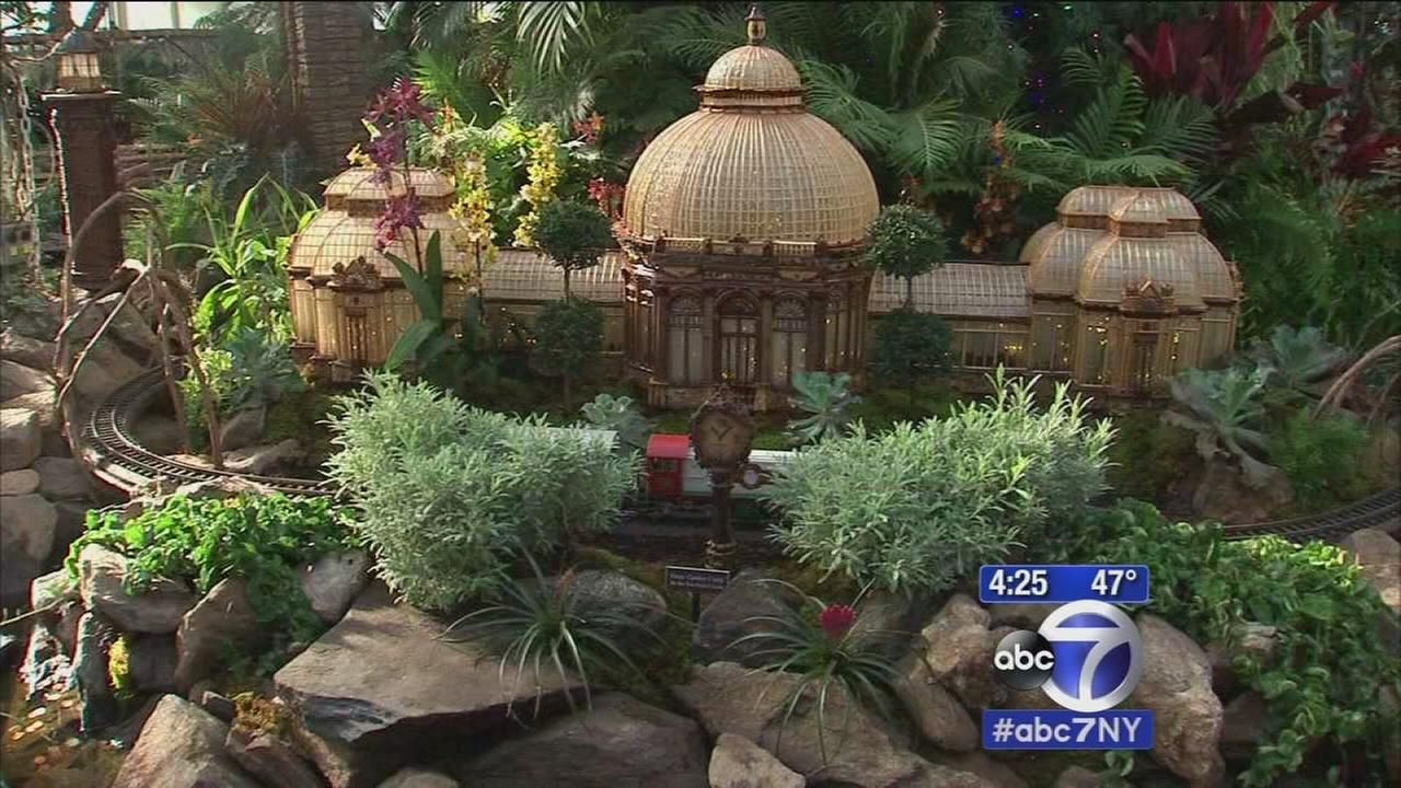 23rd Annual Holiday Train Show at NY Botanical Garden