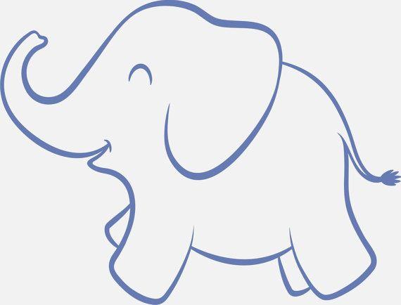 indian elephant... Elephant Printable Clipart