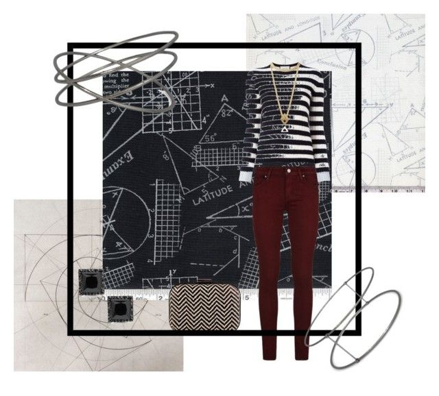 """""""Geometry"""" by armsdani ❤ liked on Polyvore featuring Paige Denim, Gucci and Rachel Entwistle"""