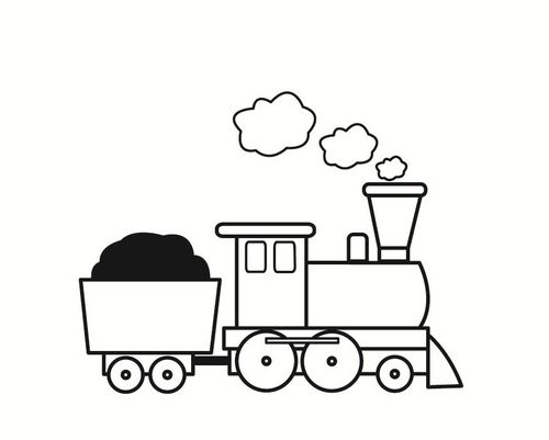 Coloring Page Train Img 23358 Train Coloring Pages Train Drawing Coloring Pages