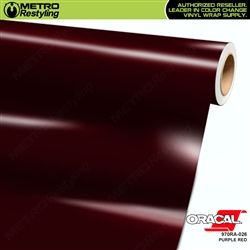 Oracal 026 Purple And Red Vinyl Wrap Oracal Vinyl