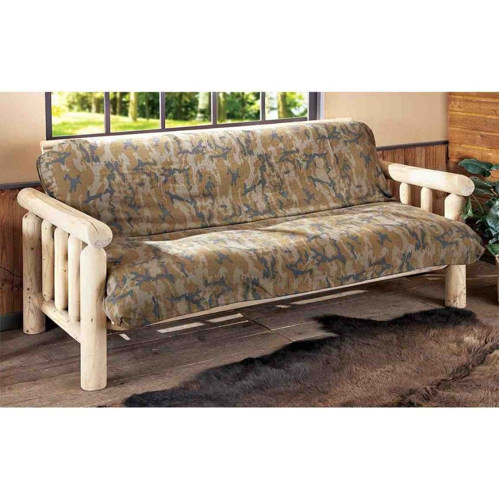 Camo Futon Cover Sofa Covers