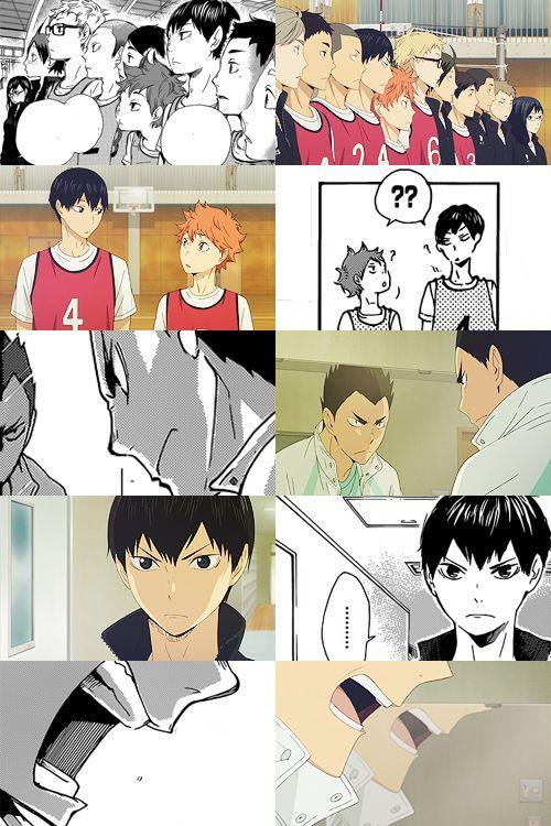 And Its Name Is You Haikyuu Anime Haikyuu Manga Manga Vs Anime