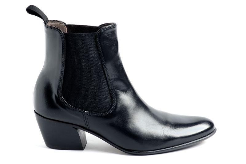 Keith Scarrott cuban heeled boots